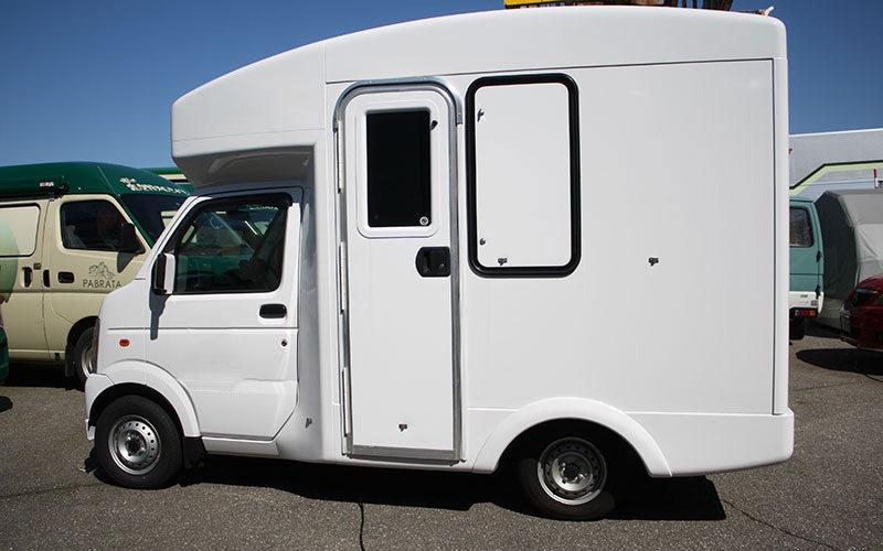 移動事務室車、移動オフィス、移動商談室車