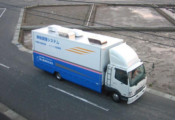 キッチンカー[4t車・オールガス仕様]1