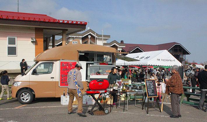 南砺市「キッチンカーを活用した食からの地域再生」